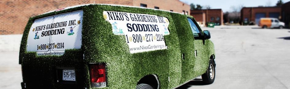 Grass Van Sodding