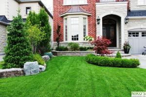 Turf Lawn laid on Grow-Max Premium Garden Soil