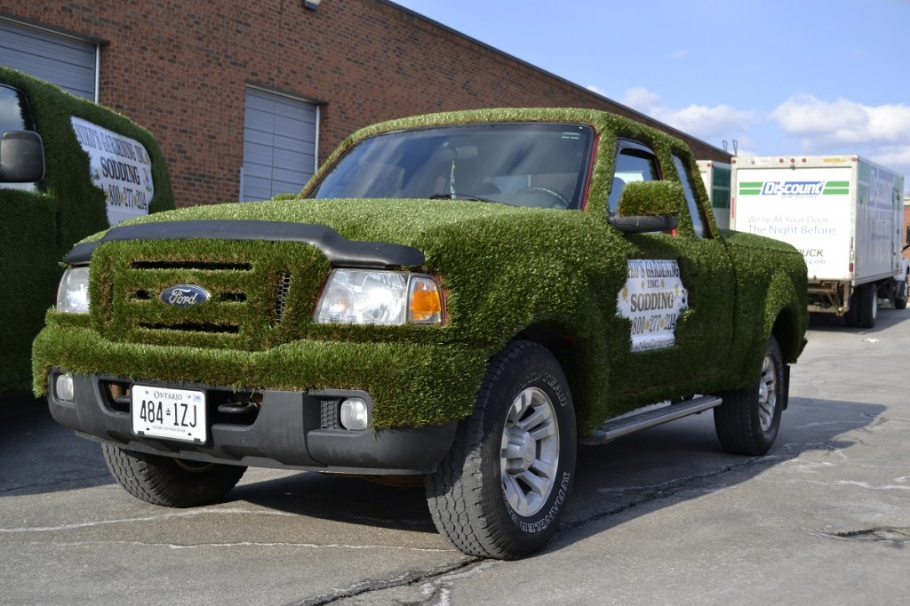 Niko's Sodding team is available for post-project turf care service